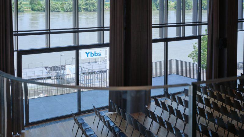 Stadthalle-Ybbs-Schiffsanlegestation